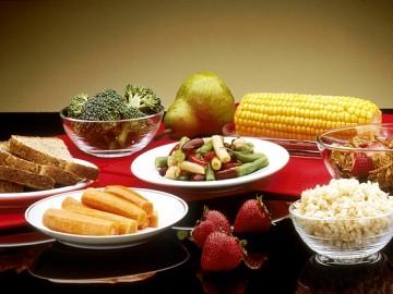 당뇨엔 현미밥에 채소만