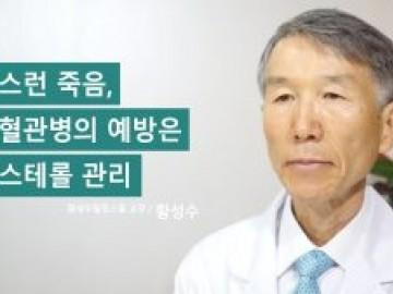 갑작스런 죽음, 심장혈관병의 예방은 콜레스테롤 관리